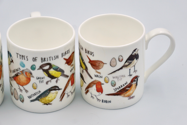 Types of Bird Mug - Peter Hall & Son