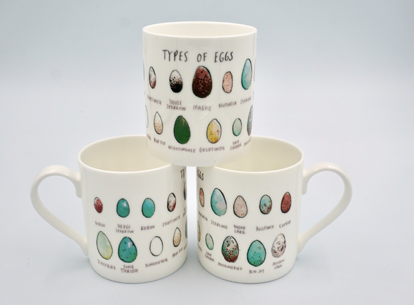 Types of Eggs Mug - Peter Hall & Son