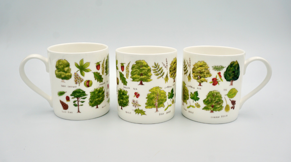 Types of Trees Mug - Peter Hall & Son