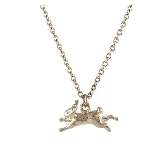 Leaping Rabbit Silver Necklace - Peter Hall & Son