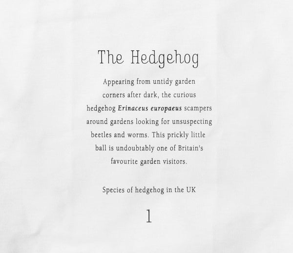 Hedgehog Tea Towel - Peter Hall & Son
