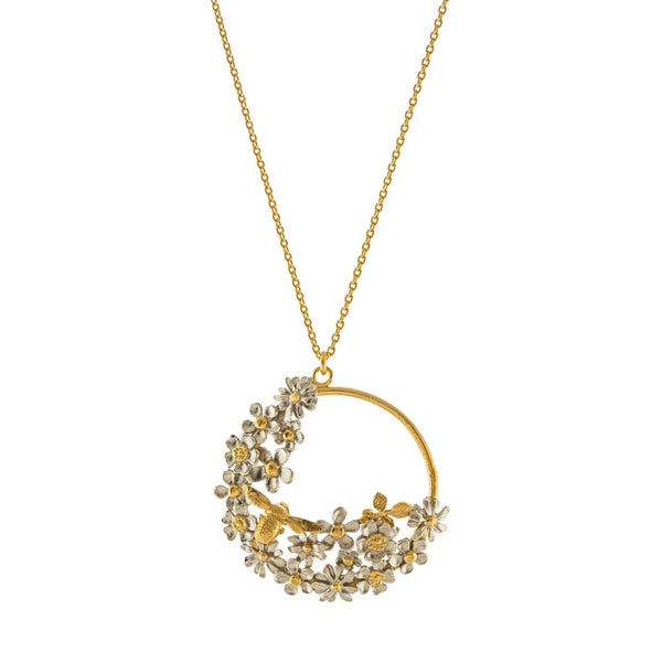 Spring Posy Bee Loop Necklace - Peter Hall & Son