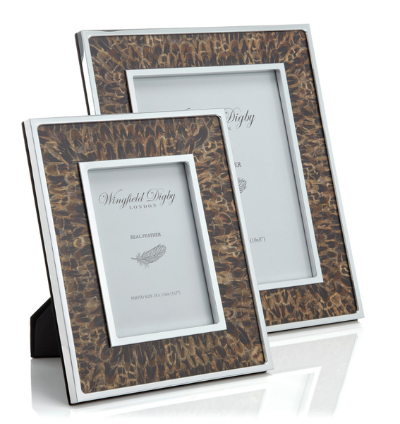 Hen Pheasant Feather Photo Frame - Peter Hall & Son
