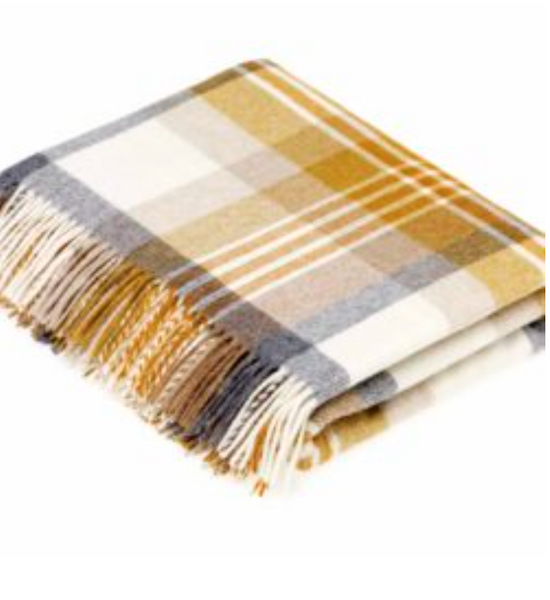 Melbourne Gold Throw - Peter Hall & Son