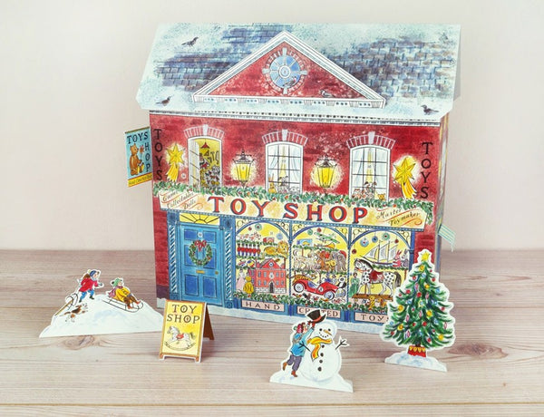 Toy Shop Advent Calendar - Peter Hall & Son