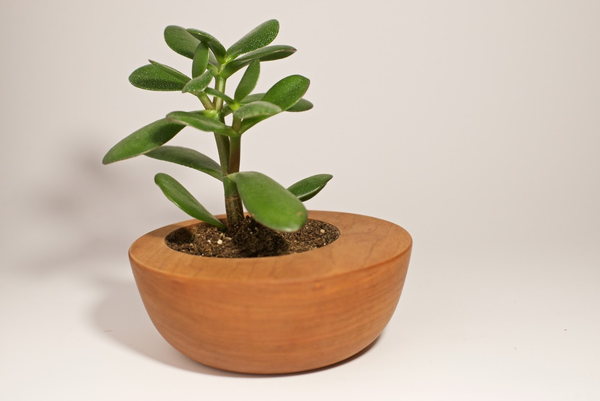 Hand Turned Planter - Peter Hall & Son