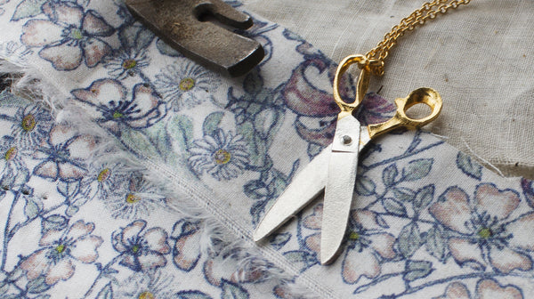 Shearing Scissors Necklace - Peter Hall & Son