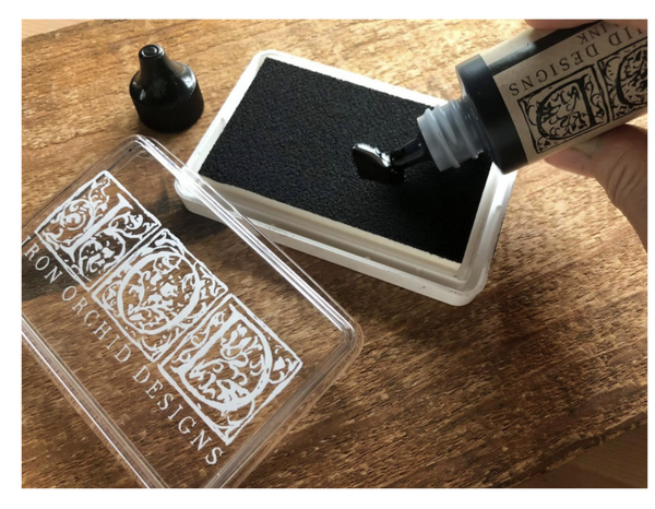 IOD BLANK INK STAMP PAD