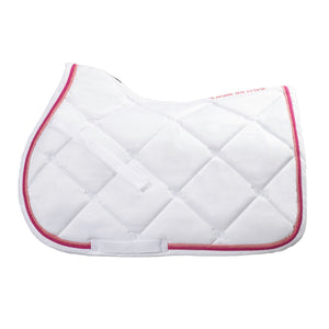 Saddle Pad Pink Ribbon Collection Jump