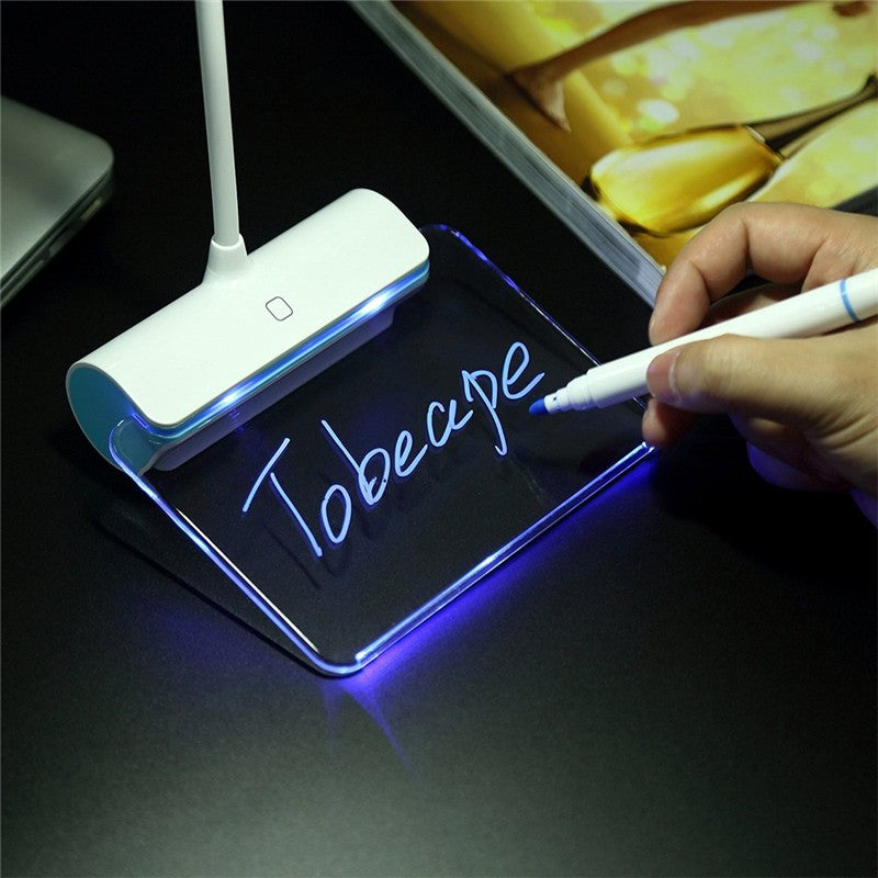 SecretLamp - LED Touch Lamp with Message Board