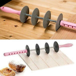 Adjustable Croissant Rolling Pin Slicer