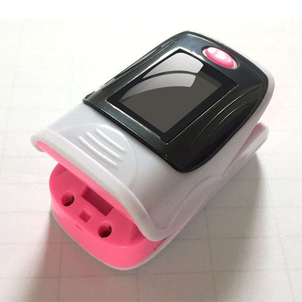 Pulse Oximeter With Carrying Case (Oxygen LED Heart Rate Monitor)
