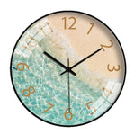 BeachFlair Modern Wall Clock