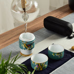 Asiatic Porcelain Tea Cup Set