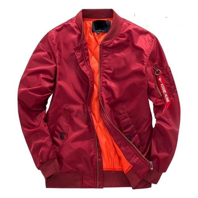 Real Fly Bomber Jacket