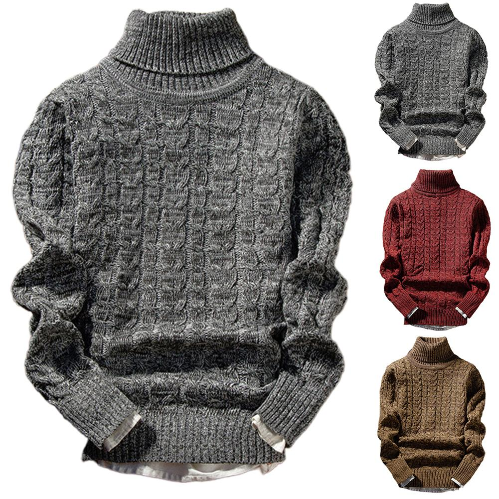 Wool Turtle Neck Long Sleeve