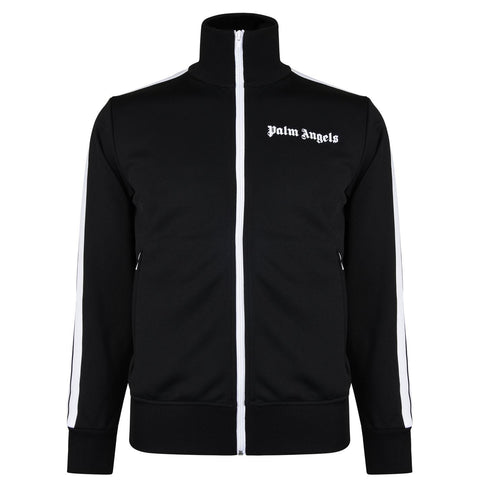 Palm Angels Track Top Black