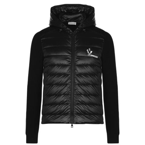 Moncler Hooded Knit Jacket