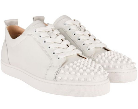 CHRISTIAN LOUBOUTIN Louis Spike Low Trainers