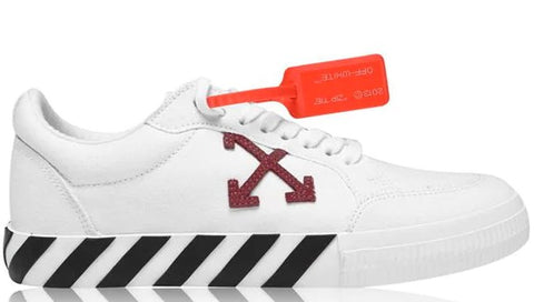 OFF WHITE Off Vulcan Low Canv Sn01