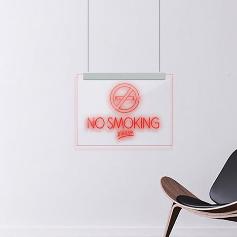 NO SMOKING - laserdesignstudio