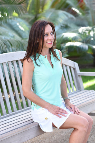 Women's Athleisure Top Teal