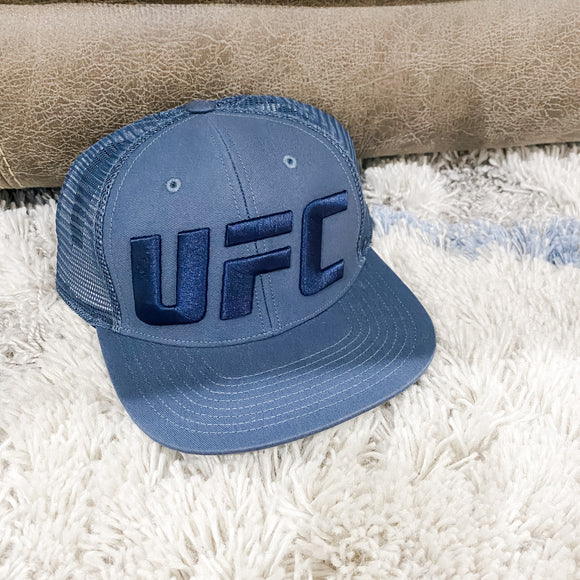 Blue UFC Hat - SIGNED
