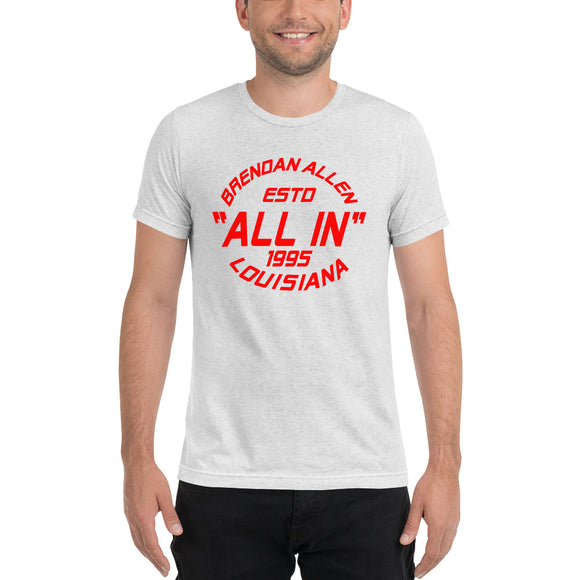 """All In"" ESTD 1995 Black & White Shirt"