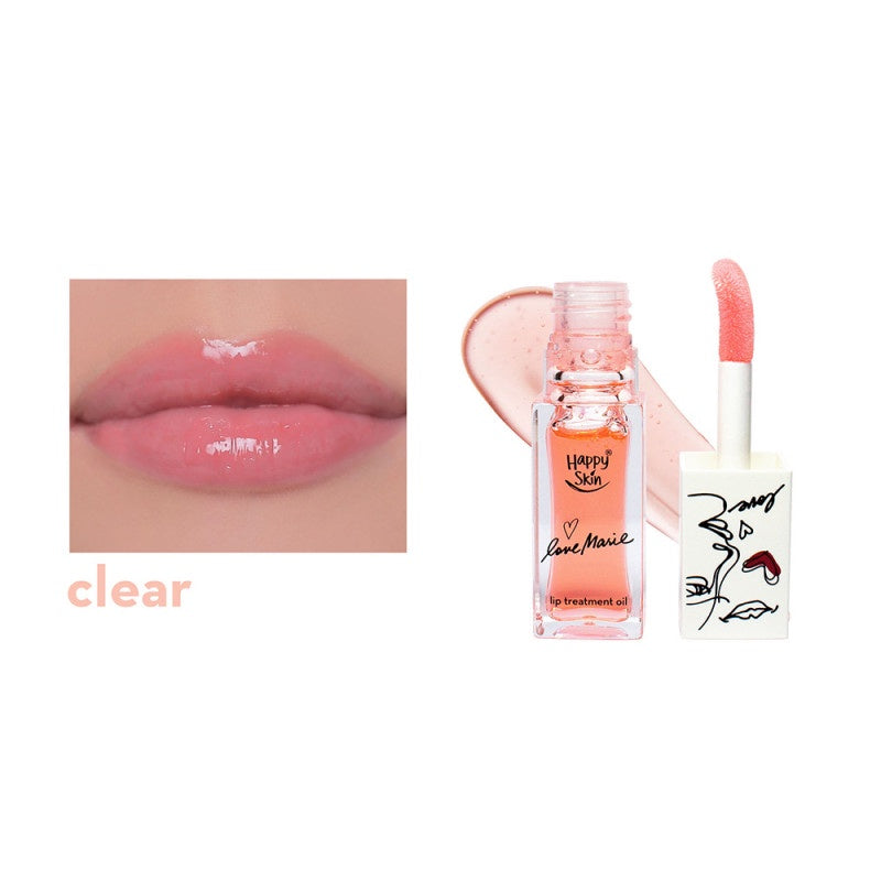 HAPPY SKIN X LOVEMARIE LIP TREATMENT OIL- CLEAR