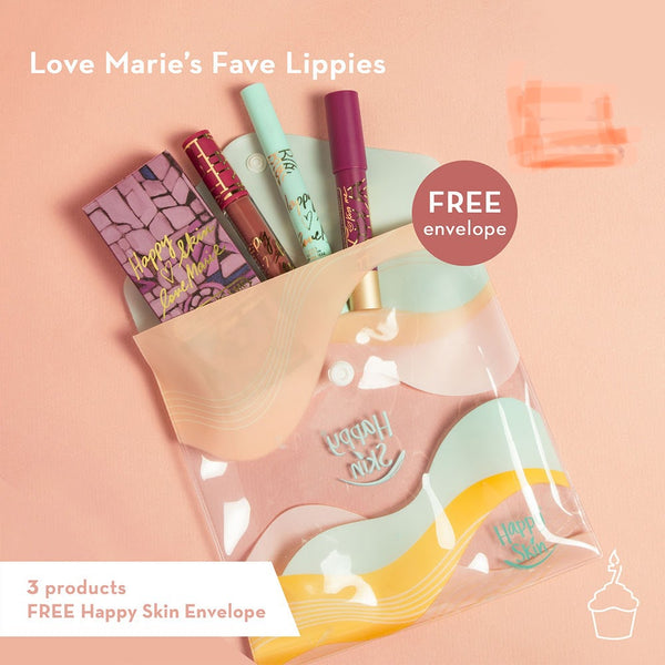 Happy Skin x Love Marie's Favorite Lippies