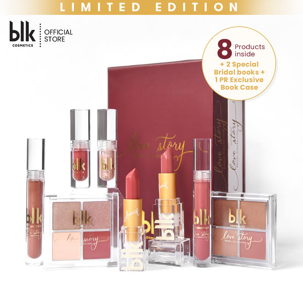 "blk cosmetics Bridal Book Case Set (""I Do"" & ""Mon Amour"")"