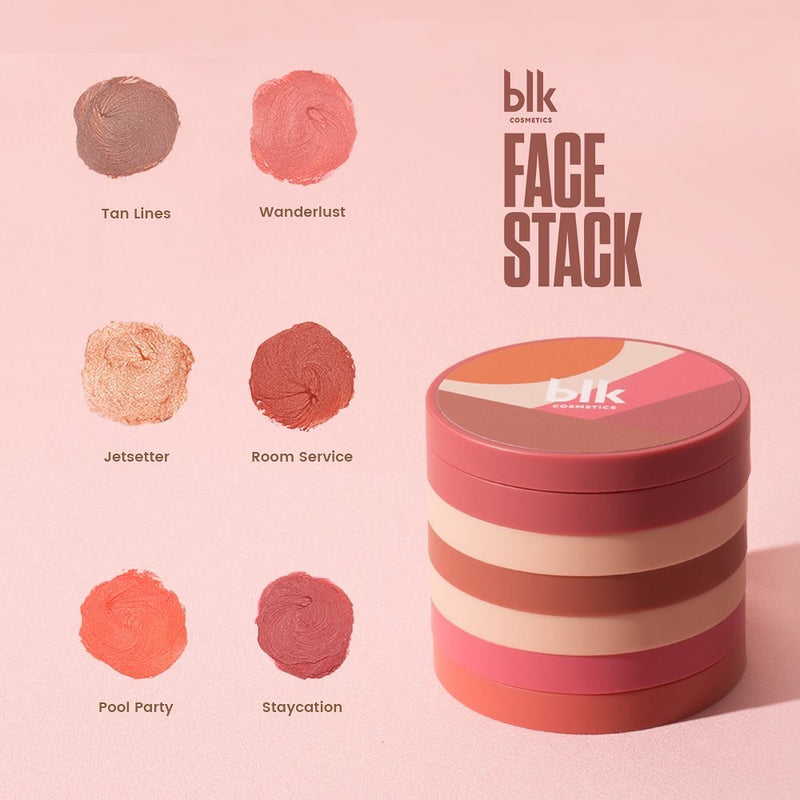 blk cosmetics Face Stacks Multi-Pot Pan & Lid (Pool Party)