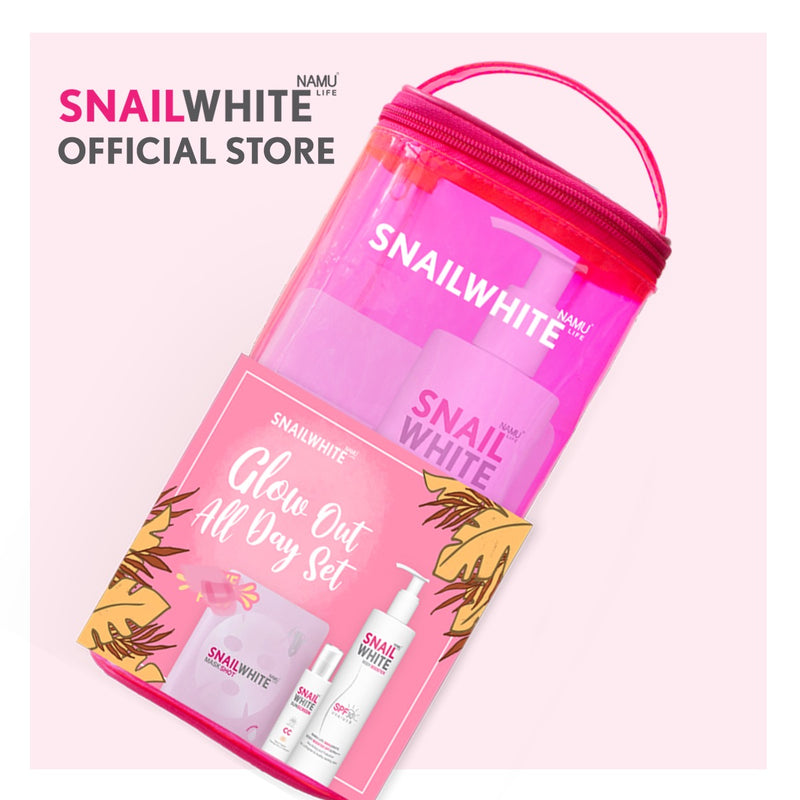 NAMU Life SNAILWHITE - Glow Out All Day Set