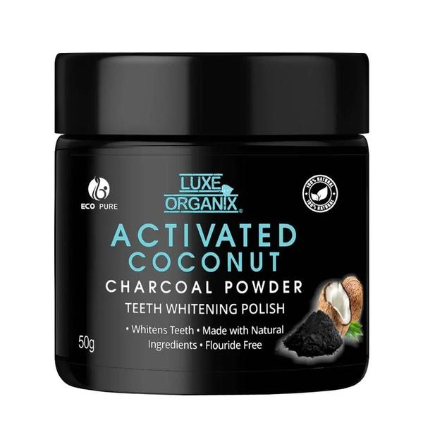 Luxe Organix  Activated Coconut Charcoal Powder 50 g