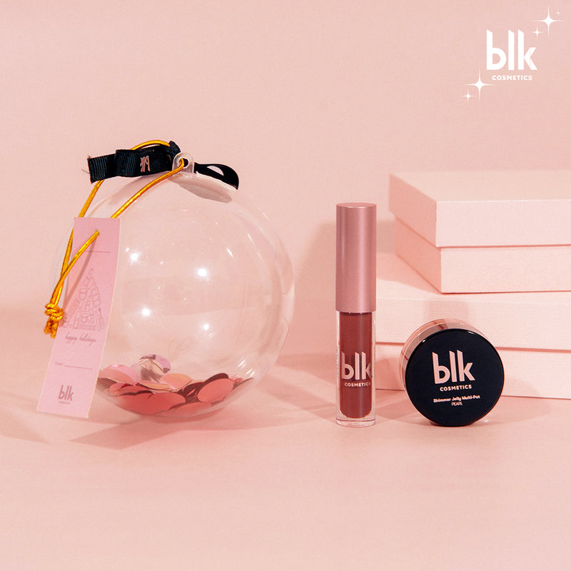 BLK Cosmetics Little Luxuries Holiday Beauty Bauble Glow Set