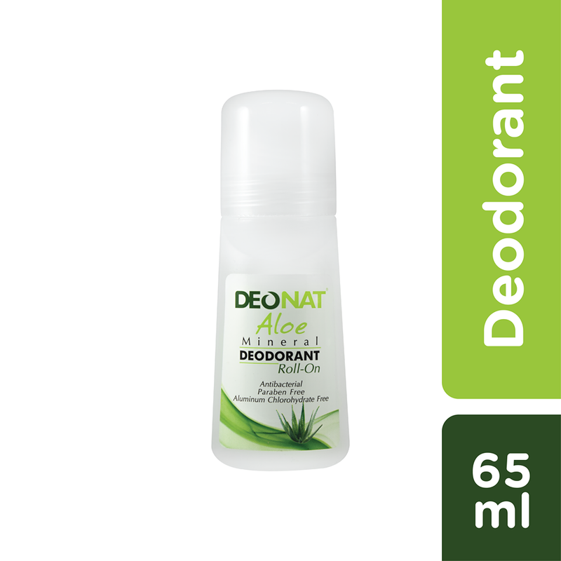 Deonat Aloe Mineral Deodorant Roll on 65ml