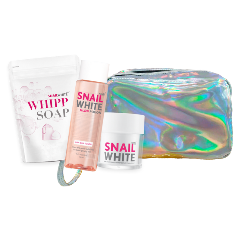 SNAILWHITE Holy Grail Trinity with Holographic Pouch
