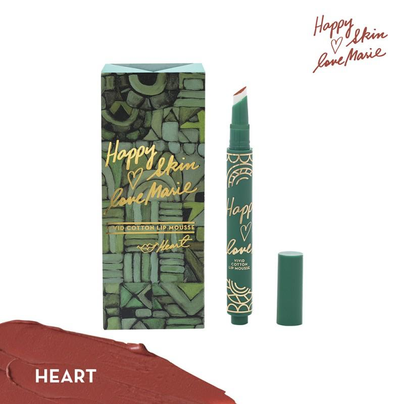 HAPPY SKIN X LOVEMARIE LIP MOUSSE- HEART