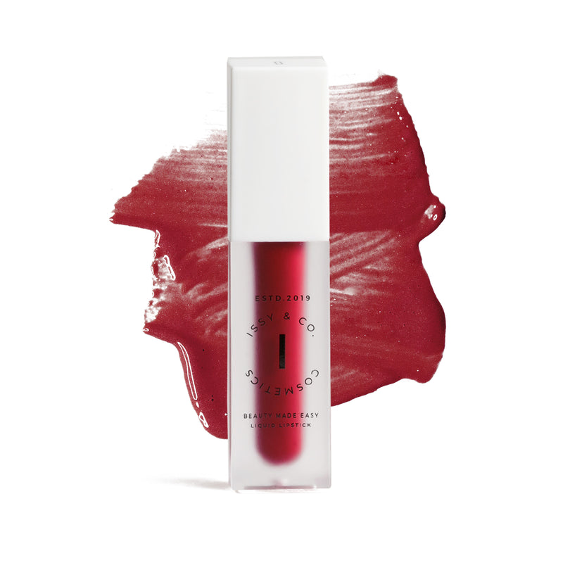 ISSY & CO.  Liquid Lipstick - Haute Red