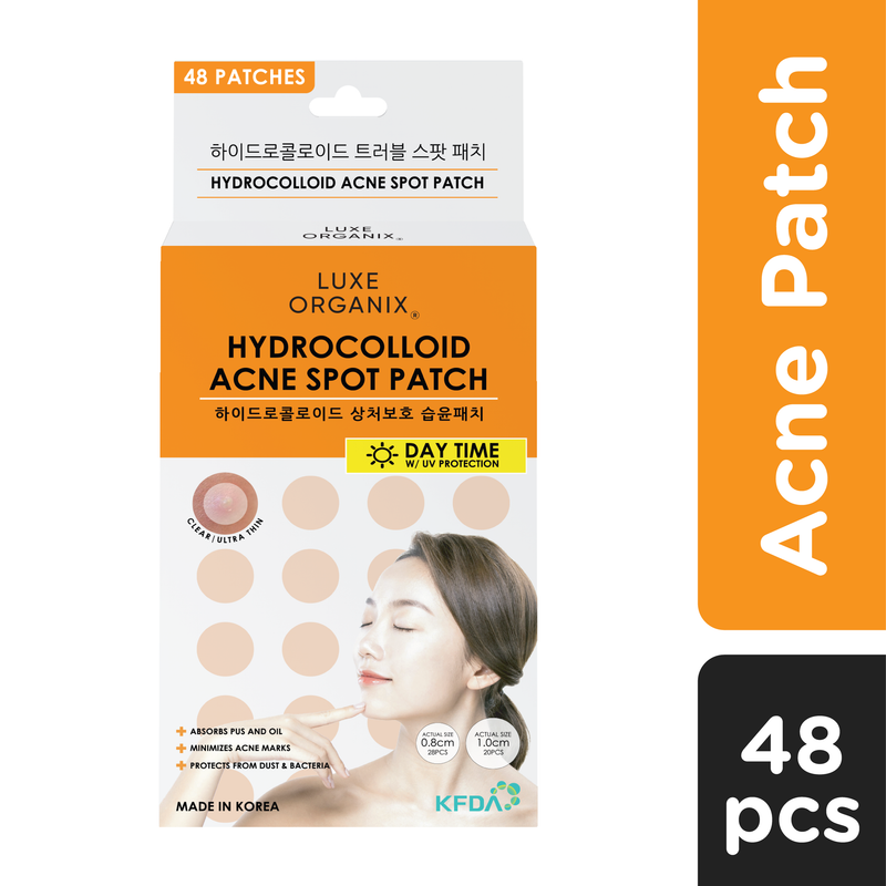 Luxe Organix Hydrocolloid Acne Spot Patch Day