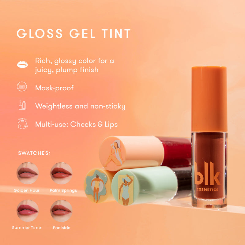 Blk Cosmetics Fresh Sunkissed Gloss Gel Tint Palm Springs