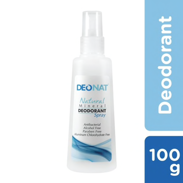 Deonat Natural Mineral Deodorant Spray