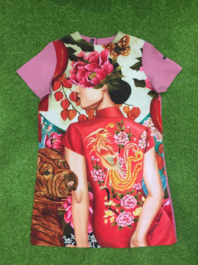 Kamiseta - KP Athena Red Moon Rising (Printed Pink)