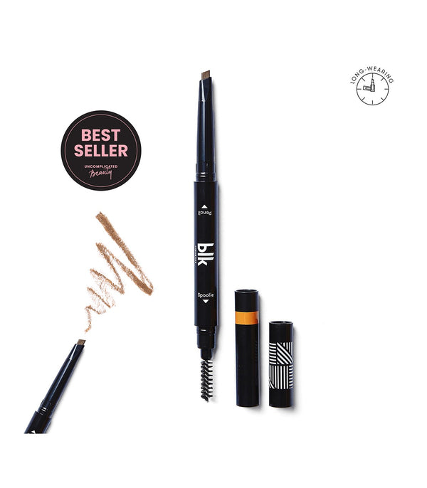 blk cosmetics Brow Sculpting Pencil Duo (Natural Brown)
