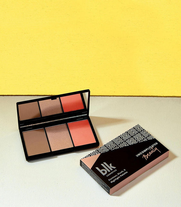 blk cosmetics Contour, Blush & Highlight Palette (Sunkissed)