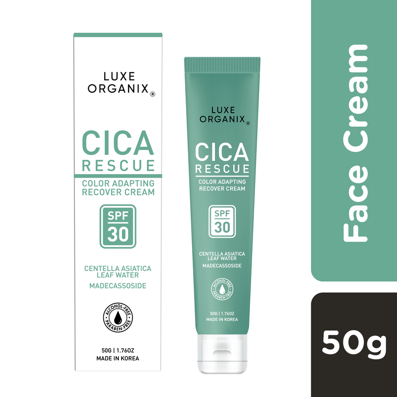 Luxe Organix Cica Rescue Color Adapting Recover Cream