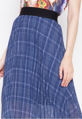 Kamiseta - AMARA Skirt (Navy/Pink)