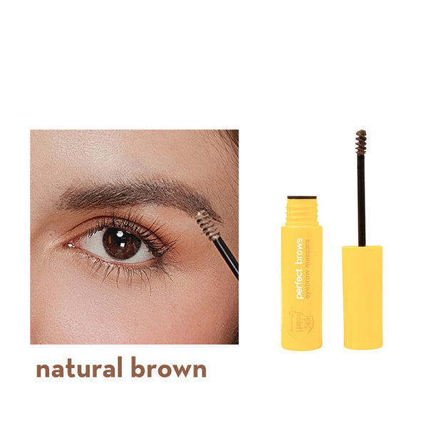 Generation Happy Skin Perfect Brows Eyebrow Mascara in Natural Brown
