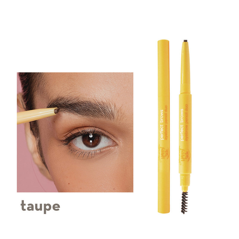 Generation Happy Skin Perfect Brows Eyebrow Pencil Duo in Taupe