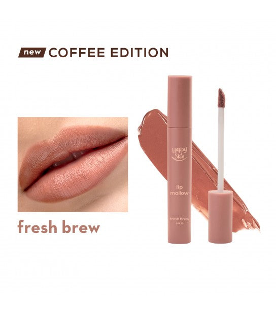 HAPPY SKIN LIP MALLOW MOUSSE - FRESH BREW